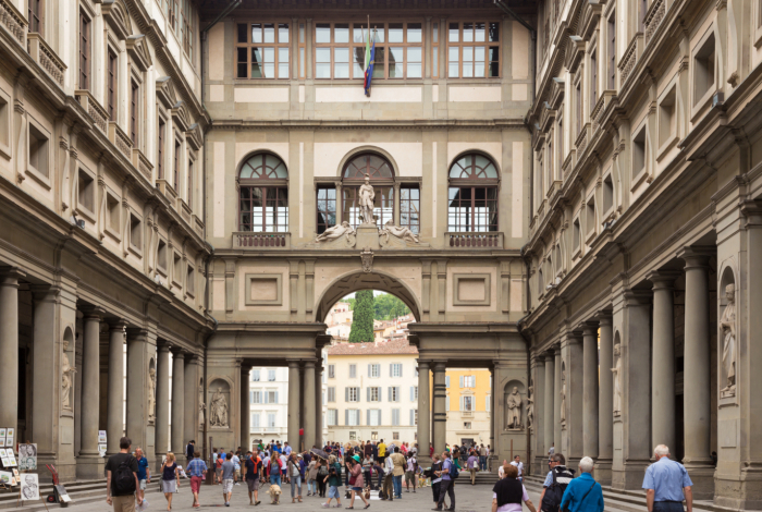 www.hotelvillacarlotta.it - Uffizi Gallery